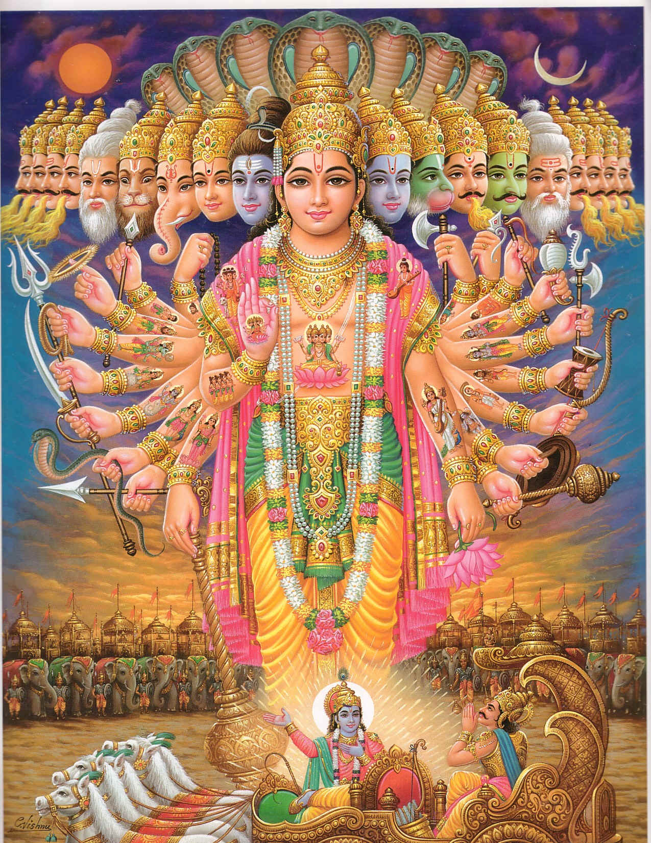 SVdPHinduMythology - Vishnu